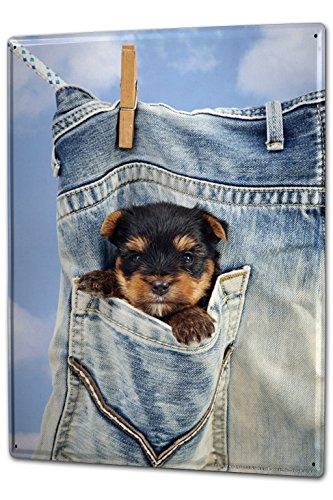 tin-sign-xxl-ravtive-vet-practice-puppy-pocket-clothesline