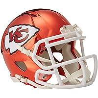 Riddell Chrome Alternate NFL Speed Authentic Full Size Helm Kansas City Chiefs