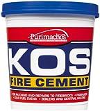 Everbuild KOSBUF2K KOS Fire Cement 2Kg - Buff