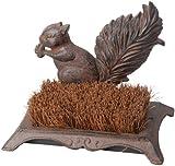 Fallen Fruits Squirrel Boot Brush - Brown