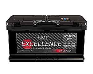 Batterie auto 12V 100Ah 850A SMF EXCELLENCE