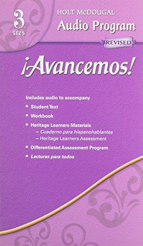 ¡avancemos!: Audio CD Program Level 3
