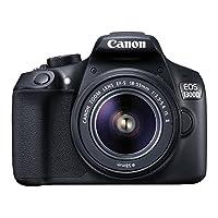 Canon EOS 1300D 18-55mm IS Fotoğraf Makinesi, Full HD (1080p), Siyah