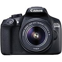 Canon EOS 1300D EF-S 18-55 IS II –55is fotocamera reflex nero