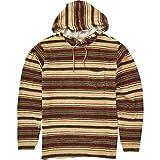 BILLABONG Herren Flecker Ensenada Pullover Hoody Sweatshirt, Khaki, Groß