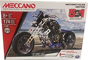 Meccano Set de Construcción 5 Motos Aprendizaje Steam (BIZAK 61921788)