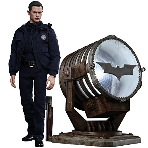 The Dark Knight Rises Movie Masterpiece Actionfigur 1/6 John Blake with Bat-Signal 30 cm (Girl Fall Clothes American Doll)