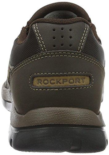Rockport Gyk Slip On, Mocassins Homme Marron