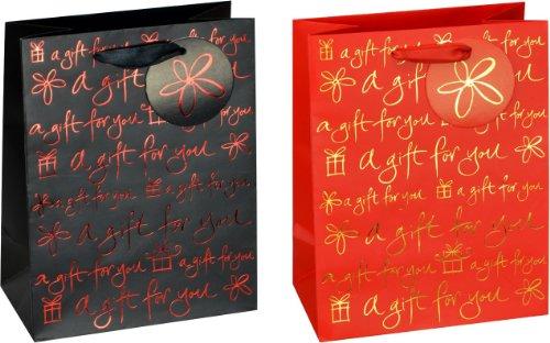 tsi-85012-a-gift-for-you-bolsas-de-regalo-medianas-pack-de-12-unidades-2-modelos-diferentes
