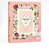 ZHAOXIANGXIANG Retro Kreative Boxed Fotoalbum 4D Big 6 Zoll Pastorale Floral Abdeckung Interleaf Typ Loose-Leaf Jahrbuch Fotoalbum