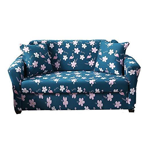 Ssdlrsf copridivano sofa cover per mobili pink flamingo segmented furniture cover set di mobili per la casa con interni in fiore elastico
