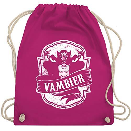 Statement Shirts - Vambier - Unisize - Fuchsia - WM110 - Turnbeutel & Gym Bag
