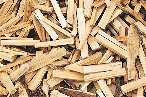 TNNature 20kg getrocknetes Anzündholz, Anmachholz und Brennholz aus Kiefer und Fichte | Holz aus nachhaltiger Forstwirtschaft | sofort einsetzbar | 20 cm Länge