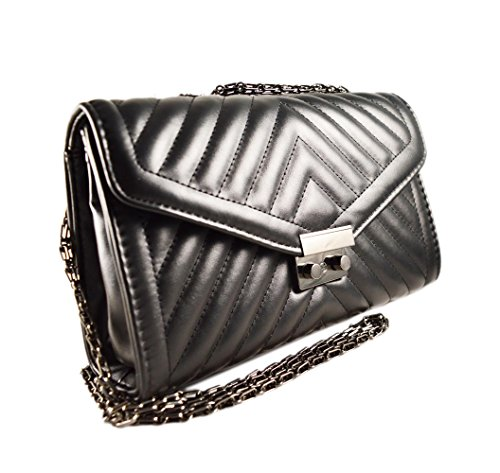 The fashion Bags, Borsa a tracolla donna nero