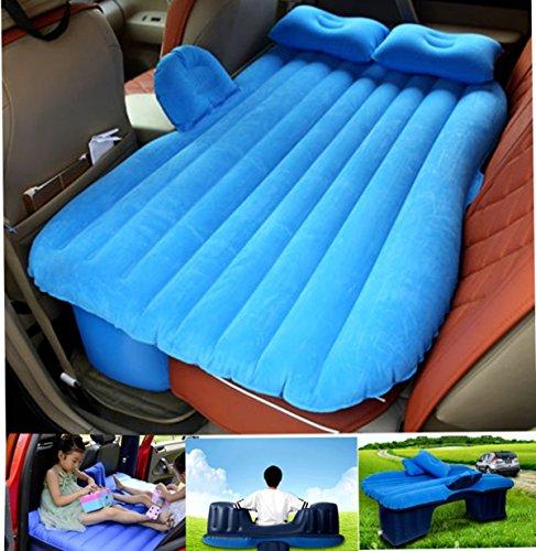 Campeggio Auto Mobile cuscino materasso letto ad aria inflazione da viaggio sedile posteriore divano estesa per SUV e Berline e camion, with baffle