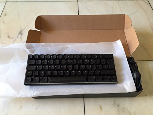 Vortex POK3R 60% tastiera meccanica, Cherry MX Brown switch, RGB  retroilluminazione - UK ISO layout