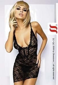 Lingerie Sexy Femme : Robe Cobra dentelles par Obsessive Taille S/M