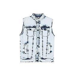 Gini & Jony Boys Regular Fit Jacket (121246517961 7000_Light Blue_4)