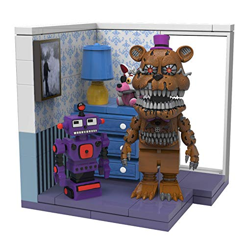 FIVE NIGHTS AT FREDDY'S McFarlane Toys Right Dresser & Door Fredbear Construction
