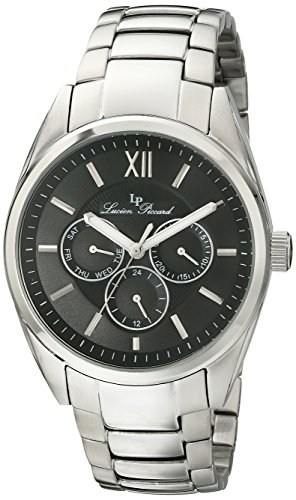 Lucien Piccard Men's LP-13455-11 Preston Stainless Steel Watch