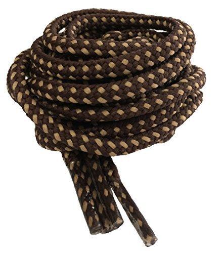 Cordones redondos y resistentes para botasde senderismo, 120cm a 200cm, color, talla 140 cm