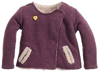 Noppies Baby - Mädchen Weste 34568-G Cardigan sweat rev Fox, Gr. 56, Violett (purple)