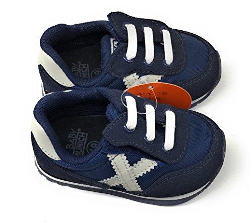 Munich Baby Dash, Baskets mode unisex Marine
