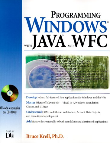 Programming Windows With Java and Wfc