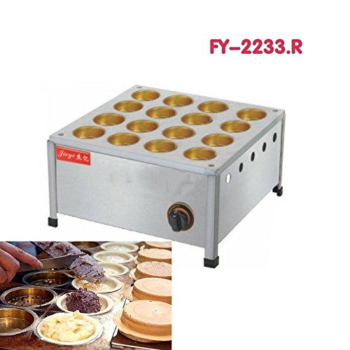 GAS TYPE16Loch Gas- und Kupfer Tasse Rot Sitzsack Cake Maschine Taiwan Rad Brot Maker
