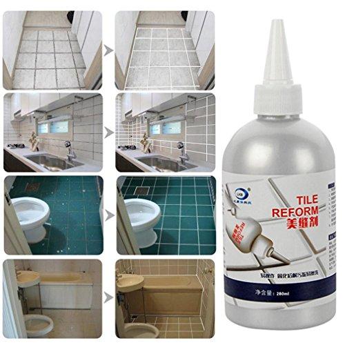 Preisvergleich Produktbild TAOtTAO Fliese Lücke Refill Agent Fliese Reform Beschichtung Schimmel Reiniger Fliese Sealer Repair Kleber