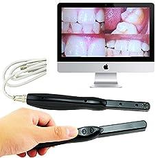 Designeez Dental 6 Mega Pixels 6-LED High Clear Image Intra Oral Camera (Black)