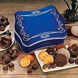 Art Deco-Truhe (1,5 kg - Metall 29 x 23 x 10 cm) Für Lebkuchen-Freunde ist dies genau das Richtige - leckere original Nürnberger Lebkuchen in diversen Varianten! In unserer dekorativen, geprägten Metalltruhe ist unsere Lebkuchenmischung auch ein wundervolles Geschenk! €19,51/kg