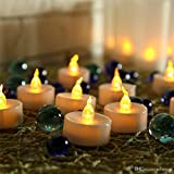 #10: Goyal LED Tea Light Candles - Yellow (Box of 24)
