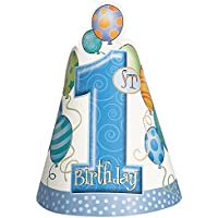 Blue 1st Birthday Party Supplies