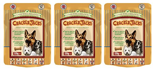 3-x-225g-james-wellbeloved-crackerjacks-turkey-rice-and-tomato-dog-treats-multibuy