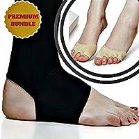 Kompressions-Kupfer-, und halbe Zehen-Socken für Herren und Damen, zur Linderung von Plantarfasziitis, Fersensporn... preisvergleich bei billige-tabletten.eu