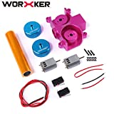 Likeluk Worker Super-E Parts Set für Nerf HyperFire/Nerf Modulus Regulator Modification und Replacement(Diamond Pattern)