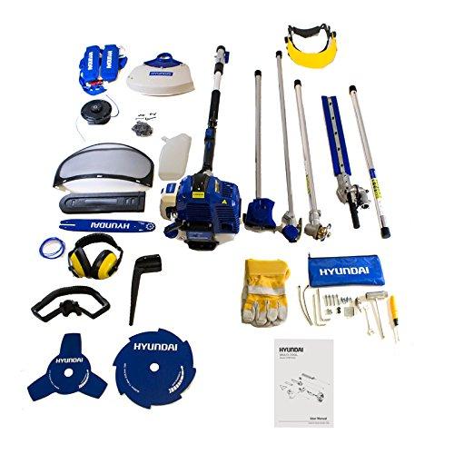 hyundai-petrol-51cc-2-stroke-multi-tool-hedgetrimmer-grass-trimmer-chainsaw