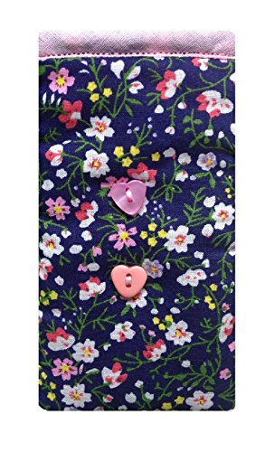 Produktbild Navy wilde Blumen drucken Apple iPod Socke - Apple iPod Nano