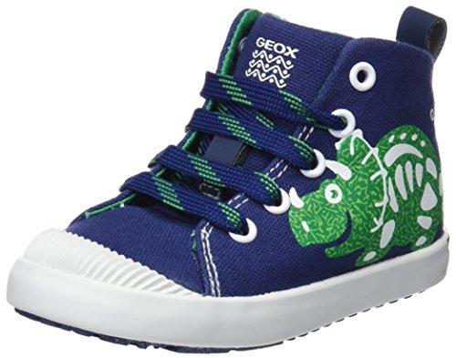 Geox Baby Jungen B Kilwi Boy F Sneaker Blau (Navy/Green), 27 EU
