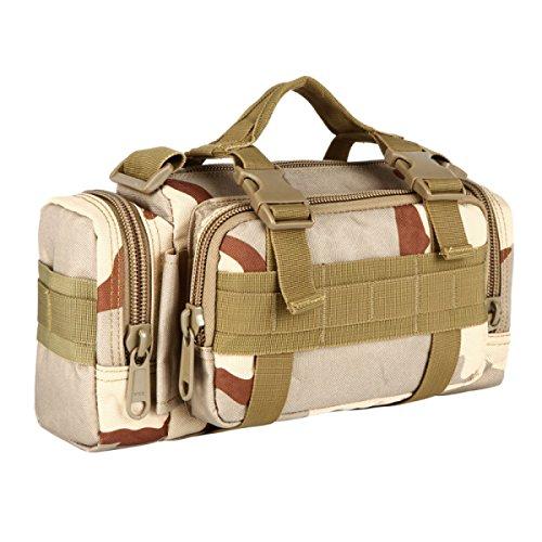 HAOYUXIANG Outdoor-Taschen Multifunktions-Umhängetasche Reiten / Reisen / Sporttaschen / Camouflage-Tasche Mehrfarbig,C5 C7