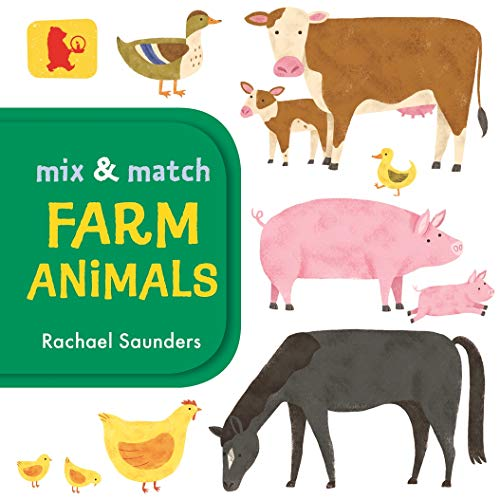Mix and Match: Farm Animals (Baby Walker) (Sound-mix-board)