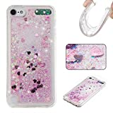 BoxTii iPod Touch 5th / 6th Generation Case [with Free Tempered Glass Screen Protector], Rhinestone Soft TPU Cover, Bling Design Shell Case for Apple iPod Touch 5th / 6th Generation (#12 Love)