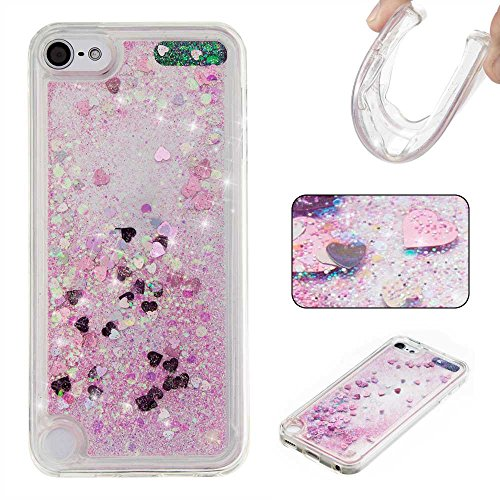 ipod-touch-5th-6th-generation-case-with-free-tempered-glass-screen-protector-boxtiir-elegant-rhinest