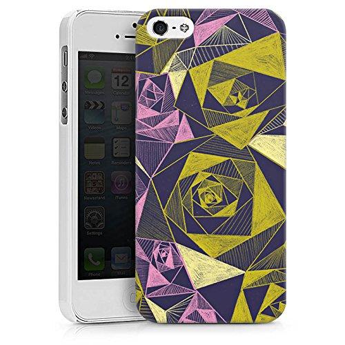 Apple iPhone X Silikon Hülle Case Schutzhülle Rosen Grafik Muster Hard Case weiß