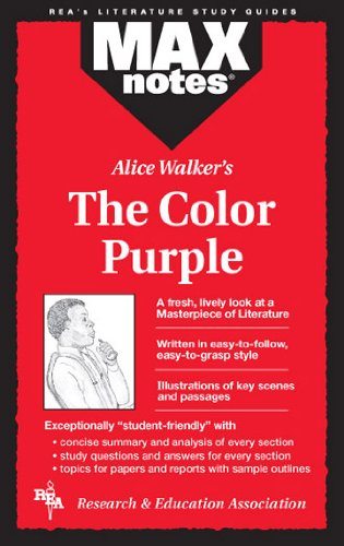 Color Purple, the (Maxnotes Literature Guides)