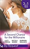 A Second Chance For The Millionaire: Rescued by the Brooding Tycoon / Who Wants To Marry a Millionaire? / The Billionaire's Fair Lady (Mills & Boon By Request)