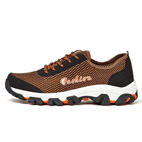 Chaussures De Randonnée En Plein Air Pour Hommes Respirant Chaussures De Sport Antidérapantes Formateurs Chaussures De Course Euro Taille 39-45 Kaki