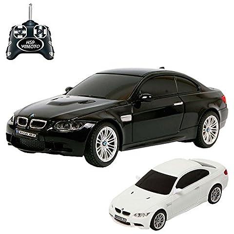 BMW M3 - RC ferngesteuertes Lizenz-Fahrzeug im Original-Design, Modell-Maßstab 1:24, inkl. Fernsteuerung