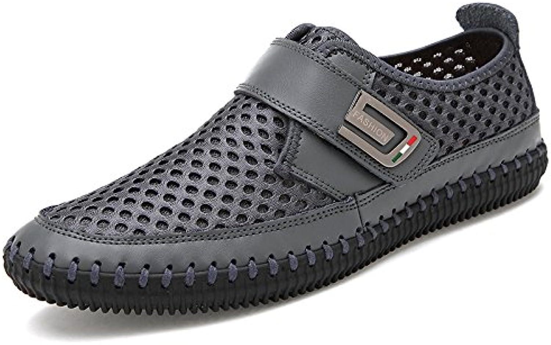 NBWE Männer Fuß Atmungsaktiv Mesh Schuhe Täglich Casual Pedal Faule Schuhe